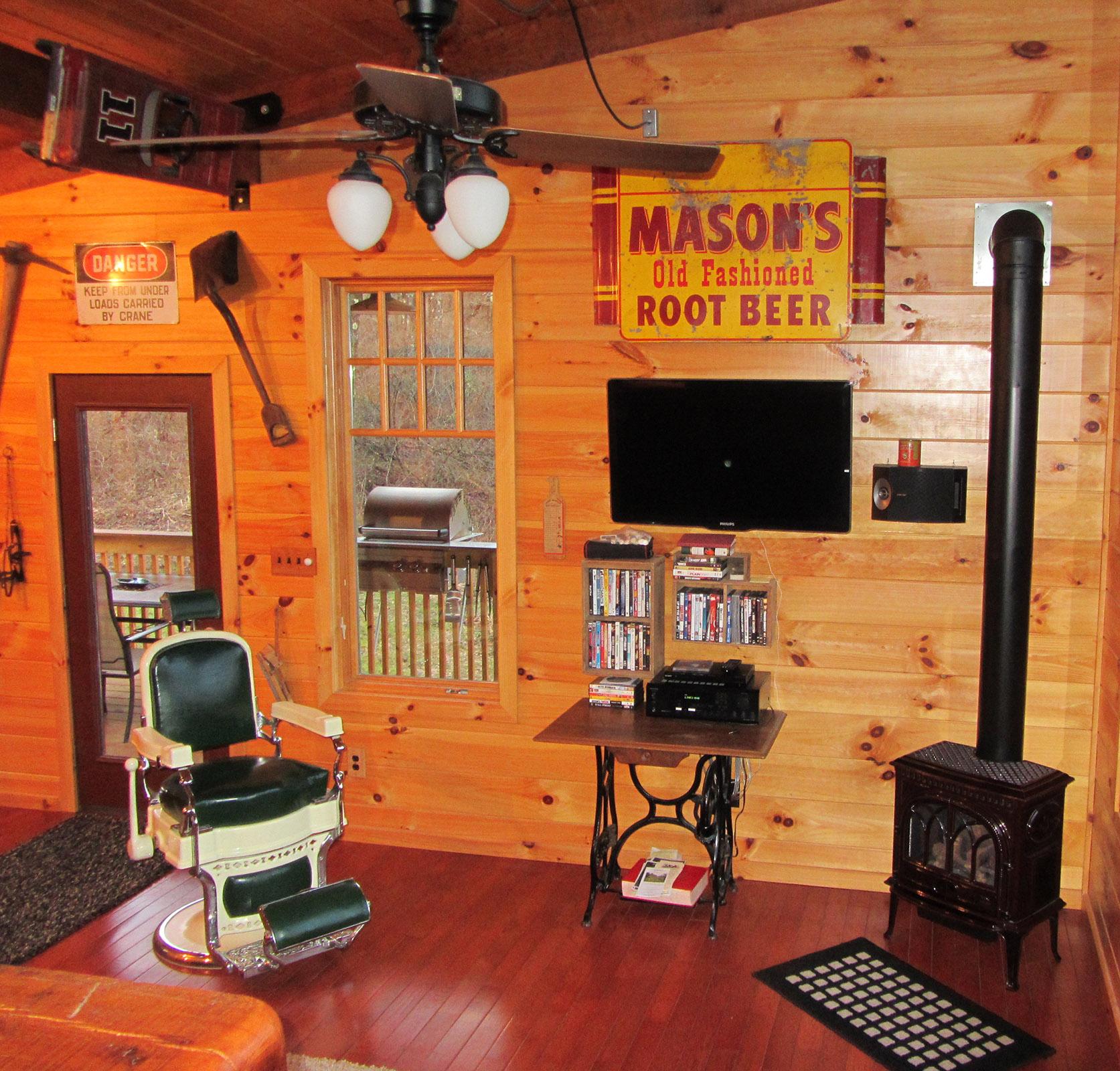 retreat hidden cabin in gem ohio cabins llc carefree log hocking hills romantic